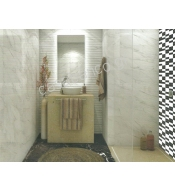 CARRARA BLANCO  BRILLO +NEGRO +DECOR  20Χ60