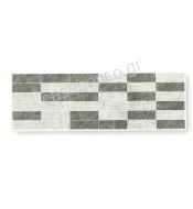 HABITAT GRIS MIX DECOR  20X60